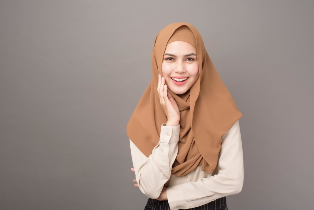 Hijab Covering Women Chest