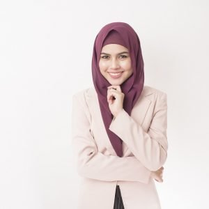 RUBY GEORGETTE HIJAB