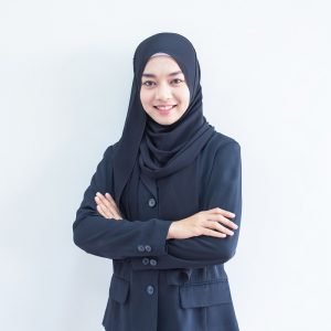 BLACK GEORGETTE HIJAB