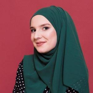 Matcha Georgette Hijab