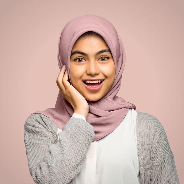 Light Pink Hijab